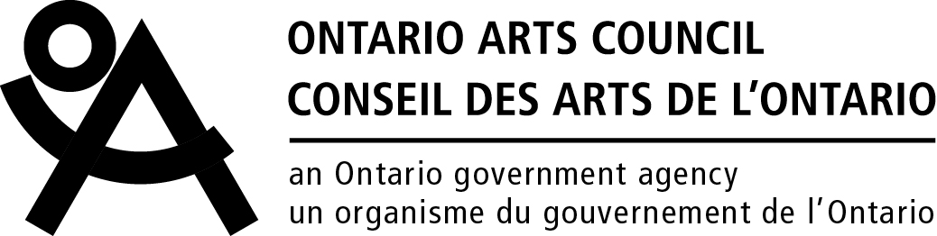 [Image description: The logo of the Ontario Arts Council]
