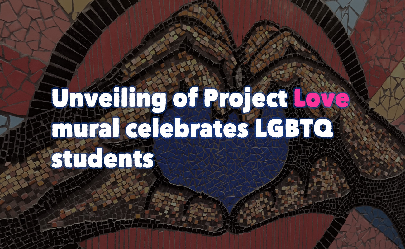 Project Love unveiled banner