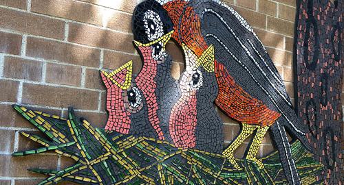 Hatch mosaic
