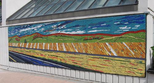 Scape mosaic